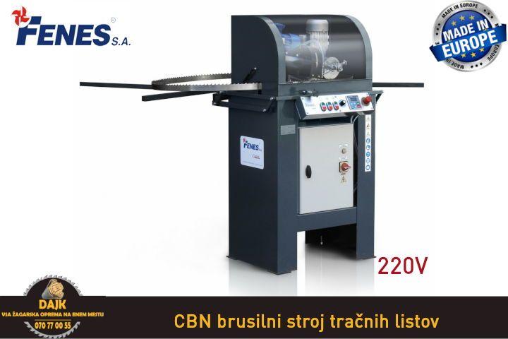 DAJK CBN brusilni stroj tracnih listov 1 220V