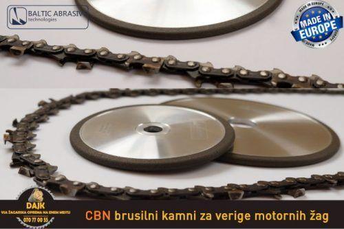 DAJK CBN Brusilni Kamni Za Verige Motornih Zag