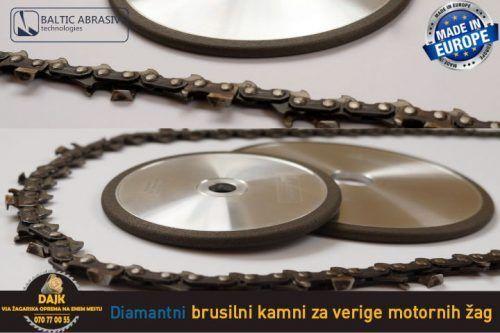 DAJK Diamantni Brusilni Kamni Za Verige Motornih Zag