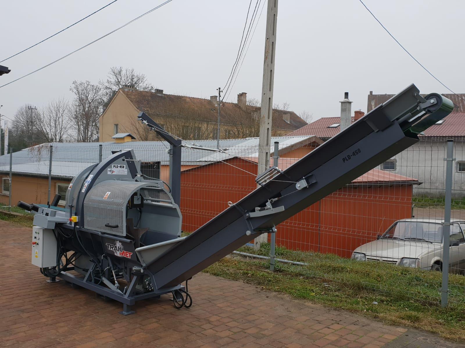 DAJK Trak Met Rezalno Cepilni Stroj Trak Met PLD 450 3