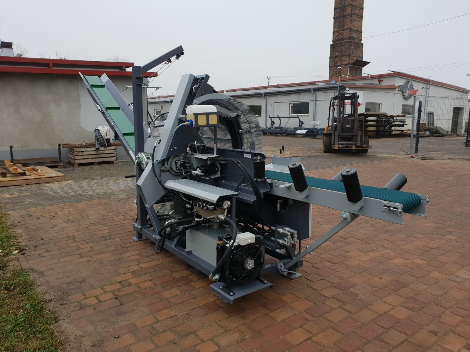 DAJK Trak Met Rezalno Cepilni Stroj Trak Met PLD 450 7