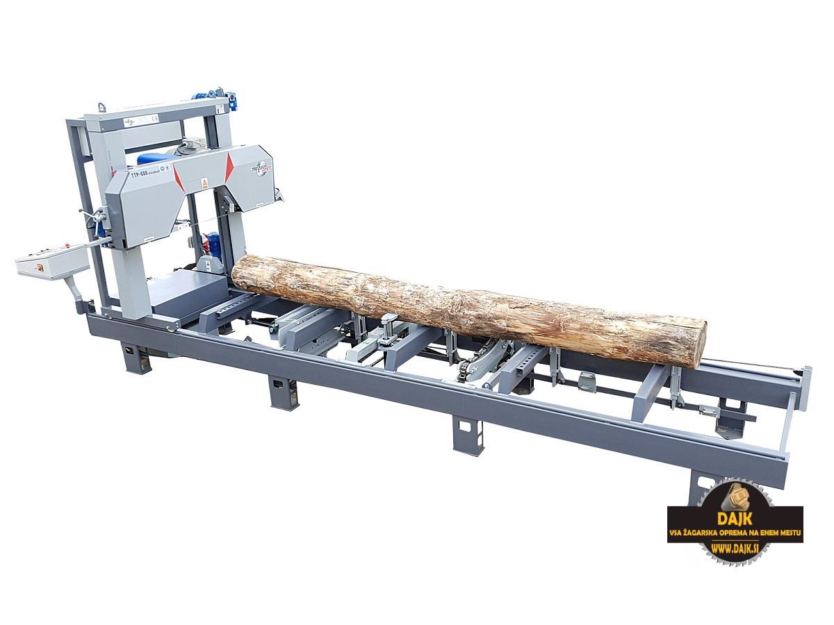 DAJK Tracna Zaga Za Hlodovino Trak Met TTP600 Standard S Hidravliko 4
